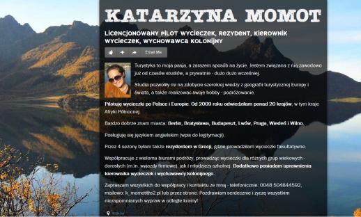 Katarzyna Momot PILOT WYCIECZEK REZYDENT